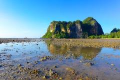 Railey, море Krabi Таиланда Стоковое Изображение RF