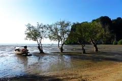 Railey, море Krabi Таиланда Стоковая Фотография
