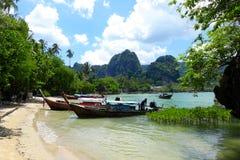 Railey, море Krabi Таиланда Стоковые Фотографии RF
