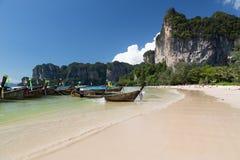 Railey beach. In Krabi, Thailand Royalty Free Stock Images