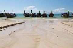 Railey Strand Lizenzfreie Stockfotos
