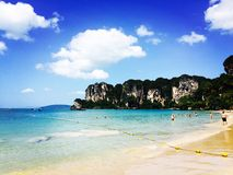 Railey strand, Thailand Royaltyfri Foto