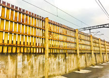 Railfence Image stock