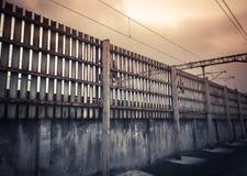 Railfence images libres de droits