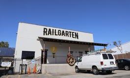 Railgarten Memphis, Tennessee Obraz Royalty Free