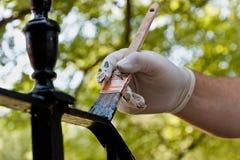 railing картины Стоковая Фотография