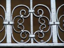 railing металла детали старый Стоковые Изображения
