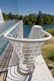 railing моста Стоковое Фото
