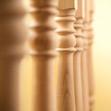 Railing in a row Stock Photos