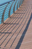 Railing Shadows Royalty Free Stock Photography