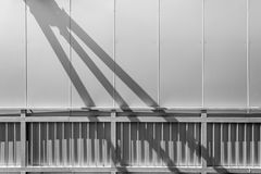 Railing Shadows Royalty Free Stock Image