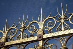 Railings. Decorative Railings for the Albert Memorial in Hyde Park; London Stock Image