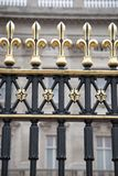 Railings of Buckingham Palace, London Royalty Free Stock Image