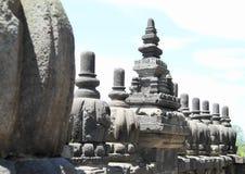 Railings on Prambanan stock photos