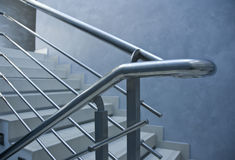 Railings stairs Stock Photography