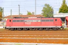 Railion locomotive Stock Photos