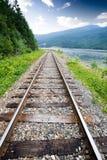 Railraod Tracks Royalty Free Stock Photography