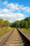 Railroad. Background can use the Internet, print advertising and design Stock Photo