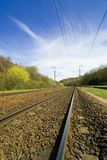 Railroad. This pict was taken in France Stock Photo
