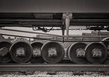 Railroad Axles Stock Image