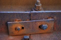Railroad Bolt stock photography