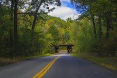 Railroad bribge, arcola trail Royalty Free Stock Photography
