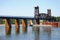 Railroad Bridge Royalty Free Stock Photos