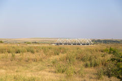 Railroad bridge Royalty Free Stock Images