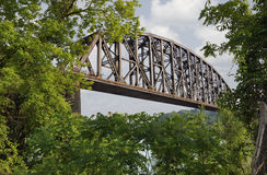Railroad Bridge Stock Photo