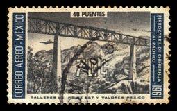Railroad bridge, railroad from Chihuahua to Pacific Ocean