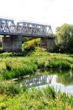 Railroad bridge Royalty Free Stock Photo