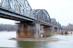Railroad bridge, outdoor royalty free stock image