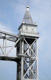 Railroad bridge turret Stock Photography