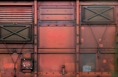 Railroad car Royalty Free Stock Photos