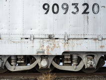 Railroad car details Stock Photo