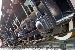 Railroad chassis Royalty Free Stock Photo