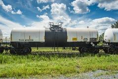 Railroad Chlorine Tank Car Royalty Free Stock Image
