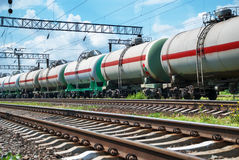 Railroad cistern Royalty Free Stock Images