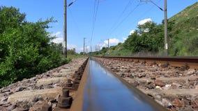 Railroad stock video