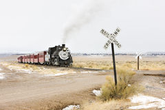 Railroad in Colorado Royalty Free Stock Image