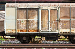 Railroad container Royalty Free Stock Photography