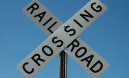 Free Railroad Crossing Sign Royalty Free Stock Images - 38649