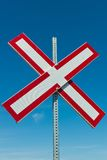 Railroad Crossing Royalty Free Stock Image