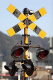 Railroad Crossing Signal Stock Photos