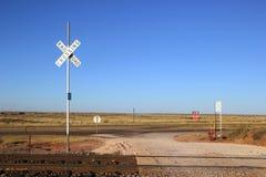 Railroad Crossing Royalty Free Stock Image