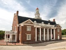 Railroad Depot Museum. The old Railroad Depot Museum in Vicksburg, Mississippi, USA Stock Image