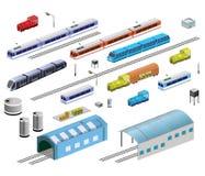 Railroad Equipment Stock Photo