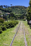 Railroad in Garibaldi Rio Grande do Sul Brazil Royalty Free Stock Photos