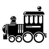Railroad icon, simple style. Railroad icon. Simple illustration of railroad vector icon for web Stock Image