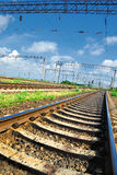 Railroad infrastructure Stock Images